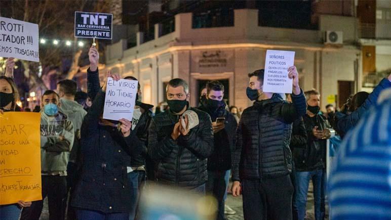 Comerciantes del Aglomerado Rosario descontentos con la medida de Perotti