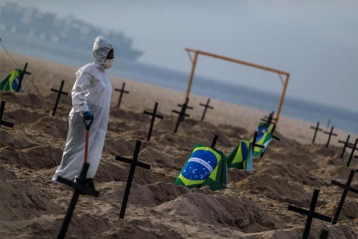 En Brasil parece haber un rebrote de Covid y pone en alerta a la Argentina