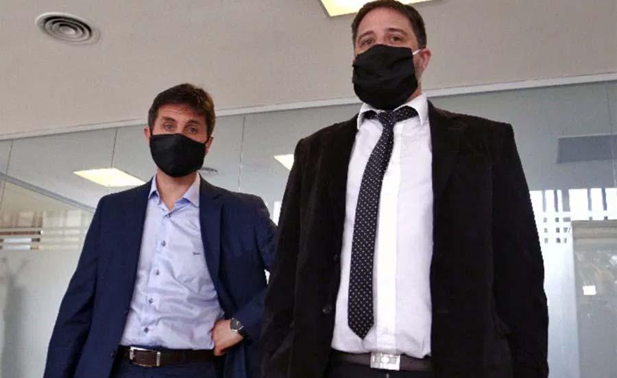 Los fiscales del caso Traferri en el Senado provincial