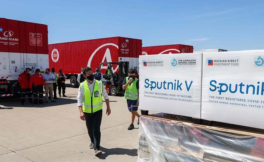 Llegan las primeras dosis de la Sputkink V a Santa Fe para el personal de Salud