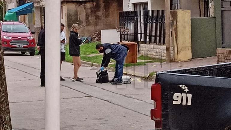 Ráfaga de balas sobre una casa del barrio Centro de Capitán Bermúdez