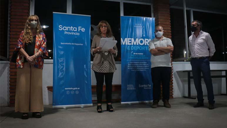 """Se inauguró en Ybarlucea la muestra """"Deporte y Memoria"""""""