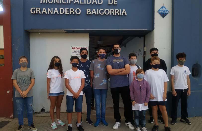 """Ajedrecistas Baigorrienses celebraron el """"Día del Ajedrez escolar"""" con autoridades Municipales"""
