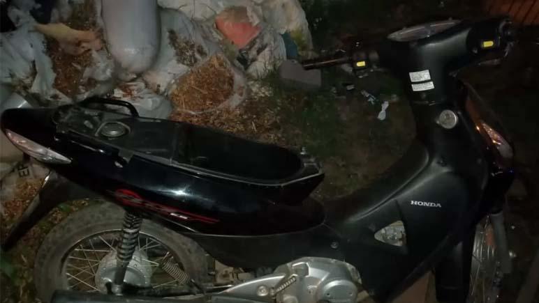 Roba una moto en Bermúdez y lo aprehenden en Baigorria