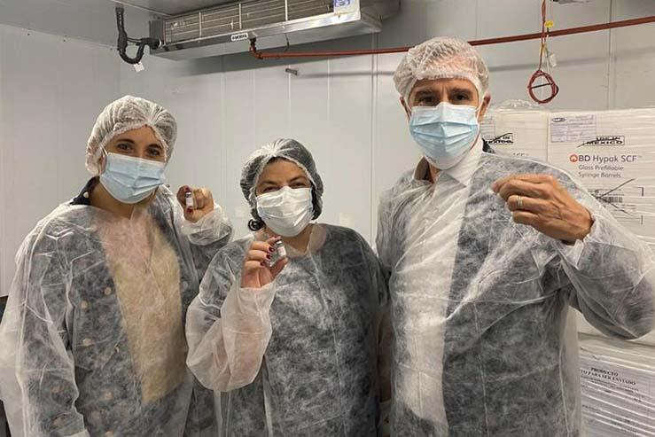 El laboratorio argentino Richmond producirá en forma masiva la Sputnik V a partir de Junio