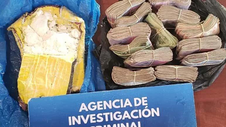 El Gendarme tenía un kilo de cocaína enterrado en el patio de su casa