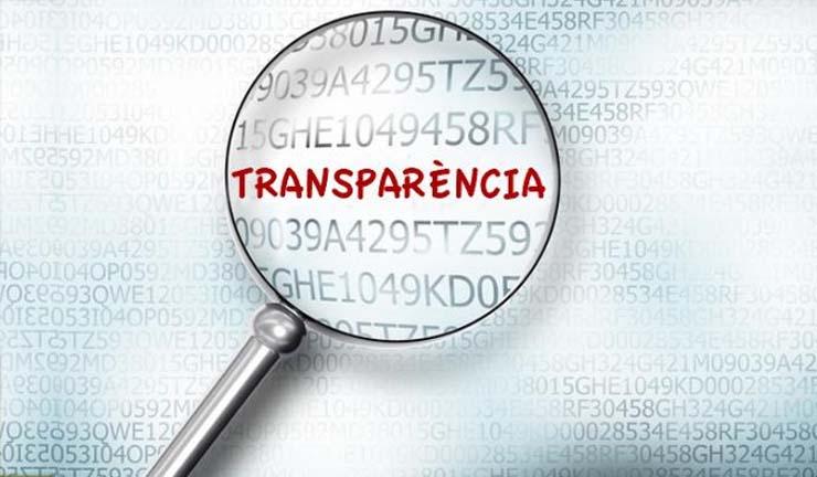 Menos transparencia, más rosca